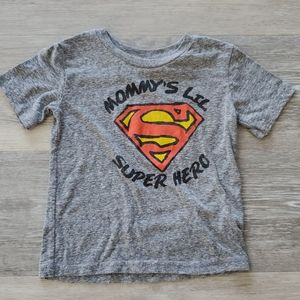 Superman Mommys Lil Super Hero Shirt